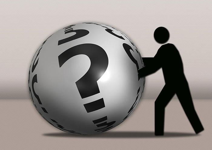 Question Ball 700