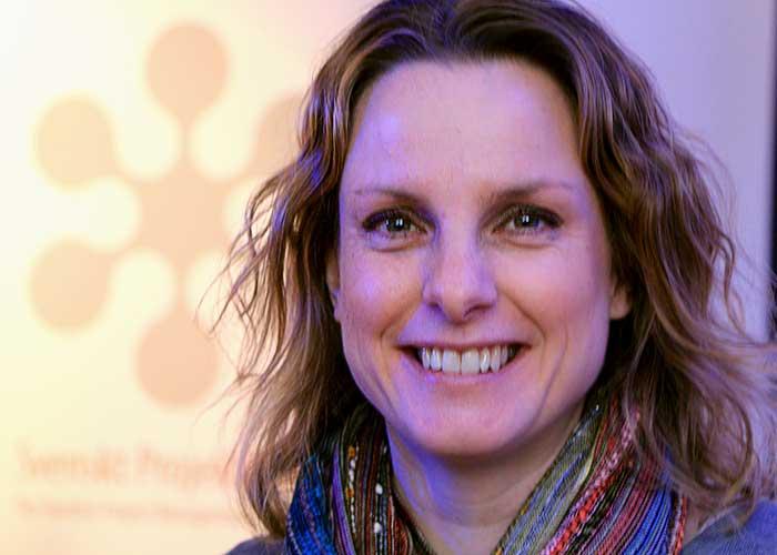Anna-Karin Gisslén Inledde Våra Projektträffar Om Stress.