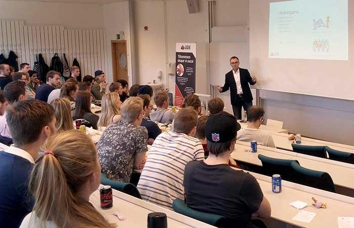 Stor Uppslutning På Young Crew I Umeå
