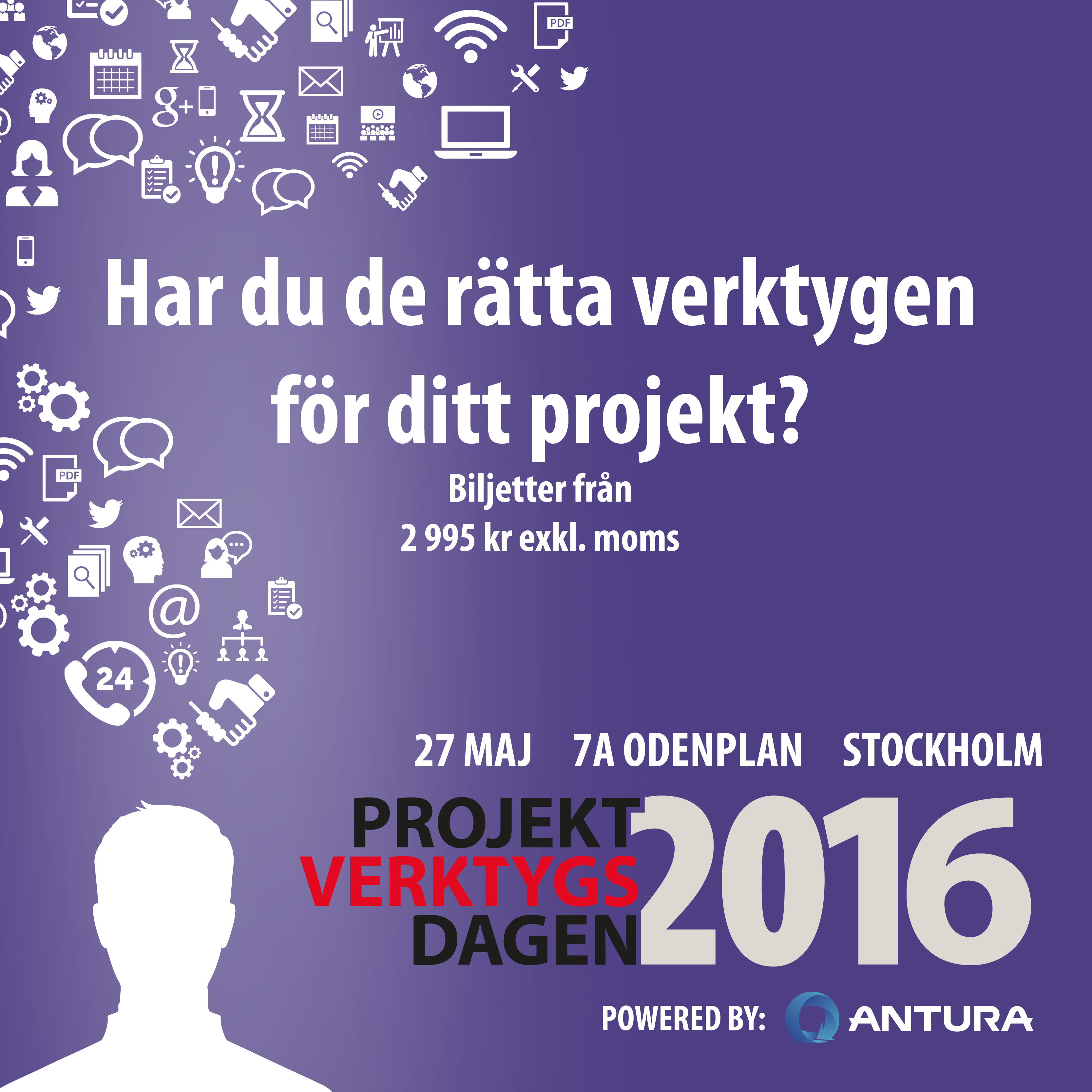 Projektverktygsdagen 27 Maj 2016