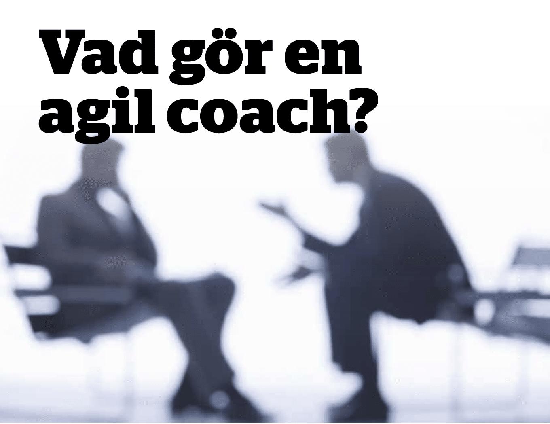 Vad Gör En Agil Coach?