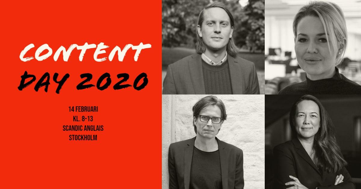 Medlemserbjudande – Contentdagen 2020